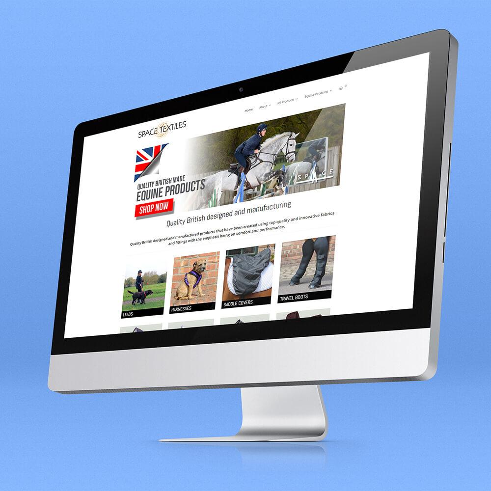 space-textiles-ecommerce-website-design