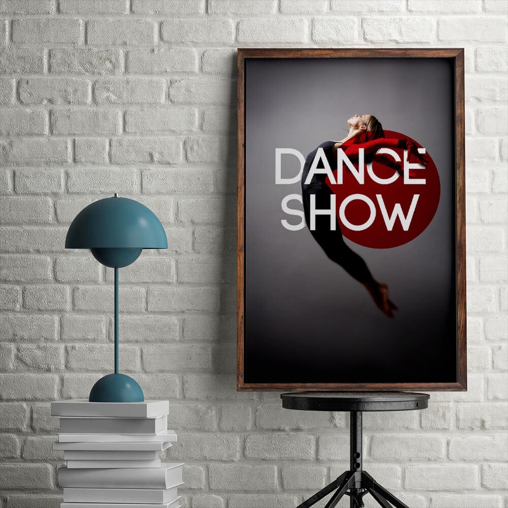 spotlight dance poster design